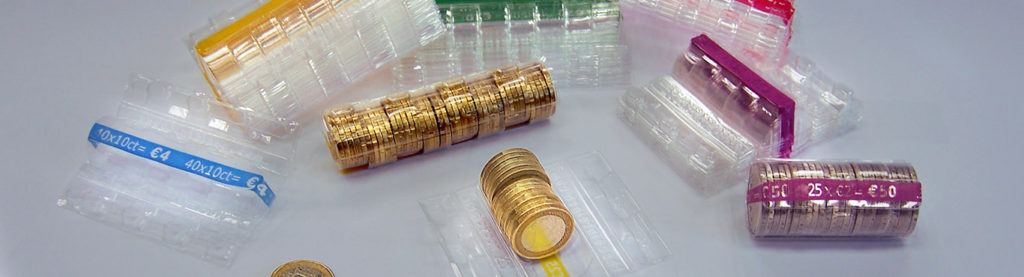 orfix Plastic Coin Tubes